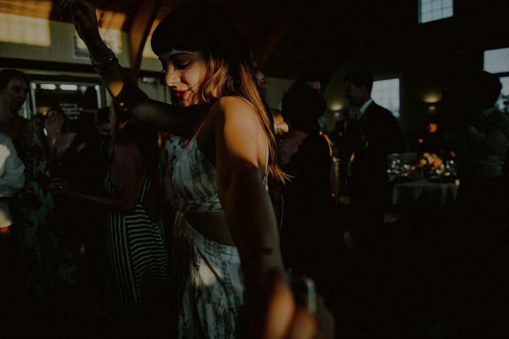dance floor moments during lbi wedding